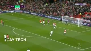 خلاصه بازی منچستریونایتد 1 - لیورپول 1 (لیگ برتر انگلیس)