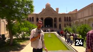 خانه بروجردیهای کاشان، جلوه ای از معماری اصیل ایرانی