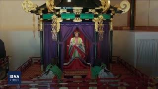 تاجگذاری امپراتور جدید ژاپن