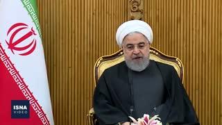 سخنان روحانی پیش از عزیمت به جمهوری آذربایجان