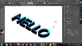 Mohammad790 آموزش طراحی حرف HELLO
